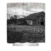 Skagit Flats-6962 Shower Curtain