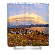 Skaha Sunset Shower Curtain
