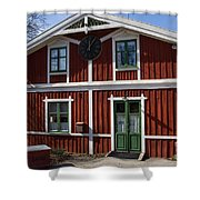 Skansen Building Shower Curtain