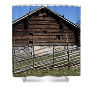 Skansen Cabin Shower Curtain
