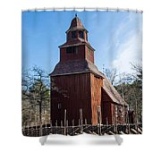 Skansen Church Shower Curtain