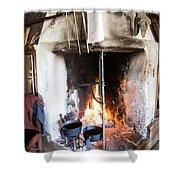 Skansen Fire Shower Curtain