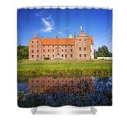 Skarhult Castle Shower Curtain