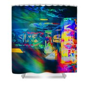 Skateboard Park Shower Curtain