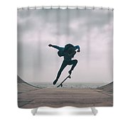 Skater Boy 004 Shower Curtain