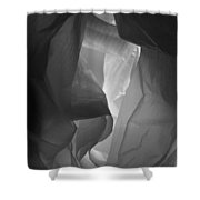 Skc 0161 The Crumpled Pattern Shower Curtain