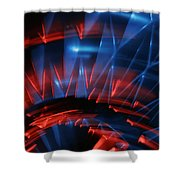 Skc 0271 Color Abstract  Shower Curtain