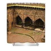 Skc 3278 Ancient Courtyard Shower Curtain