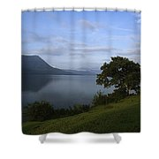Skc 3959 Overlooking The Lake Shower Curtain