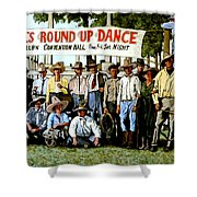 Skeeter Bill's Round Up Shower Curtain