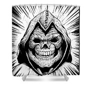 Skeletor Shower Curtain