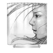 Sketch #1 Shower Curtain