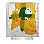 Sketchbook 2  Pg 3 Shower Curtain by Cliff Spohn