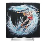Ski Bum Shower Curtain