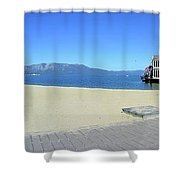 Ski Run Marina Shower Curtain