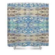 Skies And Seas Shower Curtain