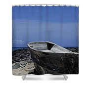 Skiff Shower Curtain