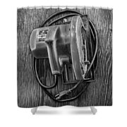 Skilsaw Top Shower Curtain