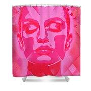 Skin Deep Series, Pinks Shower Curtain