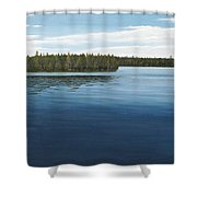 Skinners Bay Muskoka Shower Curtain
