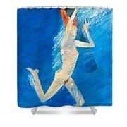 Skinnydip Shower Curtain