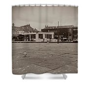 Skipton Boat House Shower Curtain
