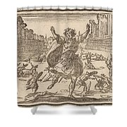 Skirmish In A Roman Circus Shower Curtain