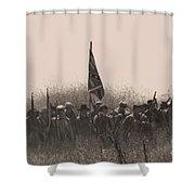 Skirmish Line Shower Curtain