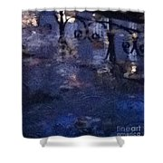 Skirting Cold Water Shower Curtain
