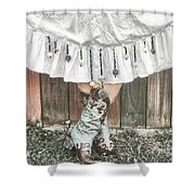 Skirts And Dangles Shower Curtain