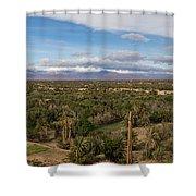 Skoura Oasis, Souss-massa-draa, Morocco Shower Curtain