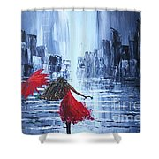 Skukura Shower Curtain