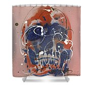 Skull #6 Shower Curtain