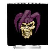 Skull 7 T-shirt Shower Curtain