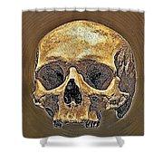Skull. Shower Curtain