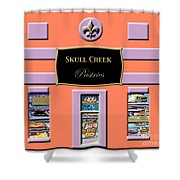 Skull Creek Pastries Shower Curtain