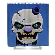 Skull Fun House Sign Shower Curtain