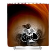 Skull Scope 3 Shower Curtain