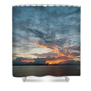 Peaceful Sky #2 Shower Curtain