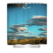 Sky And Clouds Garuda Valley Tibet Yantra.lv Shower Curtain