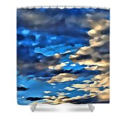 Sky And Clouds Shower Curtain