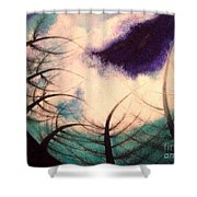 Sky And Land Symphony Shower Curtain