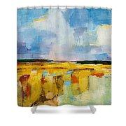 Sky And Marsh Shower Curtain