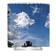 Sky Before The Storm Shower Curtain