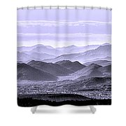 Sky Blue Hills Of The Tonto Shower Curtain
