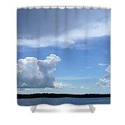 Sky Calm Shower Curtain