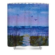 Sky Color Shower Curtain
