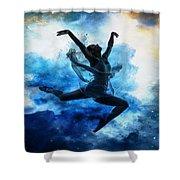 Sky Dancer 1 Shower Curtain