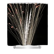 Sky Flowers Shower Curtain