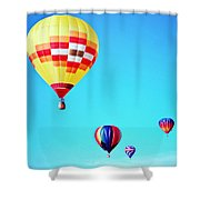Sky Full Of Color Shower Curtain